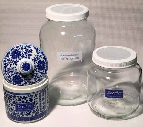 Leech jars for sale